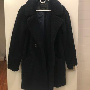 Jackets & Blazers - NEW Navy Teddy Coat